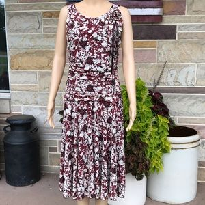 Nine West Ruched Waist Dress